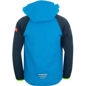 TROLLKIDS Rondane XT Zip Off Jacket Kids navy/med blue/green